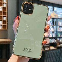Zone Zero - 纯色手机保护套 - iPhone 11 Pro Max / 11 Pro / 11 / XS Max / XS / XR / X / 8 / 8 Plus / 7 / 7 Plus / 6s / 6s Plus