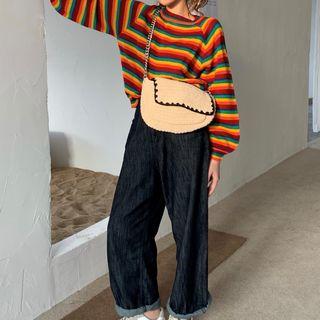 monroll - Rainbow Stripe Sweater
