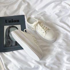 Stevvi - Canvas Sneaker Mules