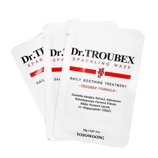 TOSOWOONG - Dr. Troubex Sparkling Mask Set