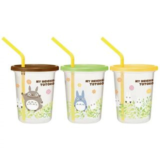 Skater - My Neighbor Totoro Tumbler Set with Straw (3 Pieces)