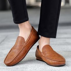 BELLOCK - Faux Leather Loafers