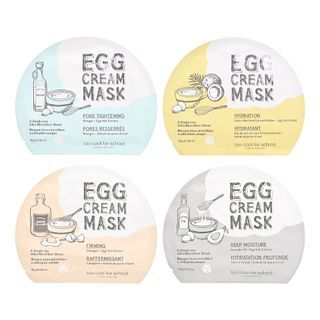 too cool for school - Egg Cream Mask - 4 Types