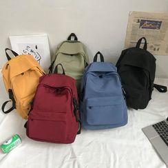 Gokk - Nylon Zipped Backpack