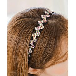 Miss21 Korea - Glitter Wavy Hair Band