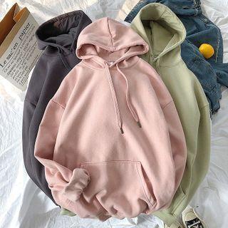 Wescosso(ウェスコッソ) - Plain Hooded Sweatshirt