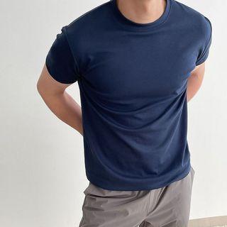 Seoul Homme - Muscle-Fit Cotton T-Shirt