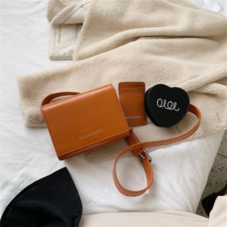 NewTown - Faux Leather Belt Bag