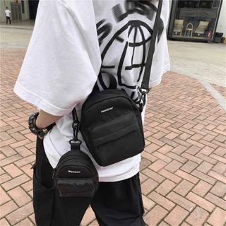Mulgam - Set: Canvas Crossbody Bag + Pouch