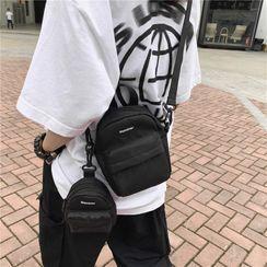 Mulgam - 套裝: 帆布斜挎包 + 小袋