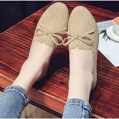 Belbie - Bow Accent Flats