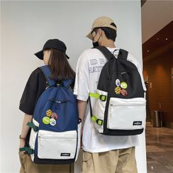 Carryme - 插色拉链背包