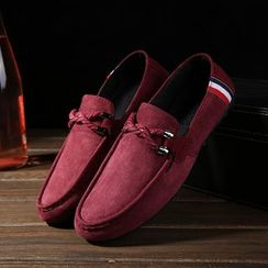 Viffara - Plain Canvas Loafers