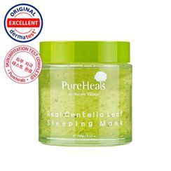 Pure Heals(ピュアヒールズ) - Real Centella Leaf Sleeping Mask