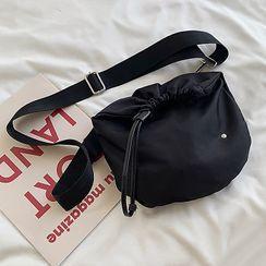 Barba(バルバ) - Nylon Drawstring Crossbody Bag