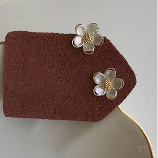 Kokyu - Acrylic Flower Earring