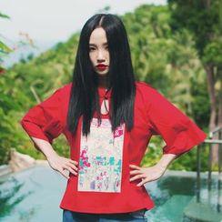 Shizen - 日式和風浮世T恤