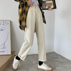 Dear Yours - High-Waist Harem Jeans