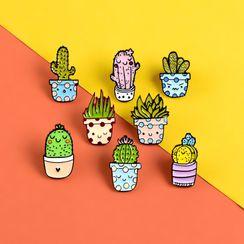 Ballyway - Cactus Brooch ( Various Designs )