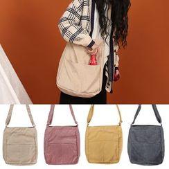 TangTangBags - Corduroy Shoulder Bag