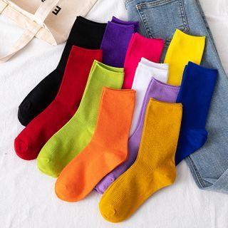 Wolfhara - Ribbed Socks