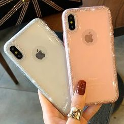 Chian - Glitter Mobile Case - iPhone X / 8 / 8 Plus / 7 / 7 Plus / 6s / 6s Plus
