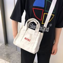 Hampa - Letter Embroidered Tote Bag