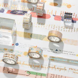 Ms Zaa - Printed Masking Tape (various designs)