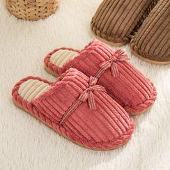 EMERY.V - Couple Matching Velvet Home Slippers