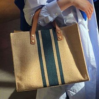 Barba - Striped Tote Bag