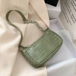 Shimme - 鱷魚紋肩包