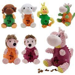 Dazzfur - Chenille Animal Pet Toy