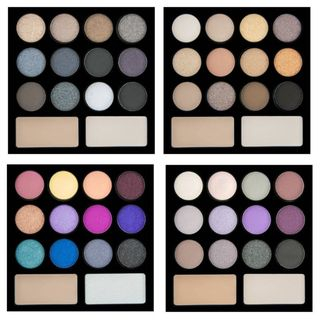 L.A. Colors - I Heart Makeup Drama Eye Palette (4 Shades)