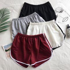 Velero - Contrast Trim Piped Shorts