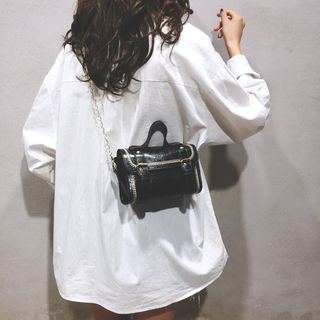 Faneur - Faux Leather Satchel