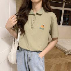 Cloud Nine - 印花短袖馬球衫