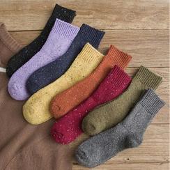 MOGLA - Set of 3: Melange Socks