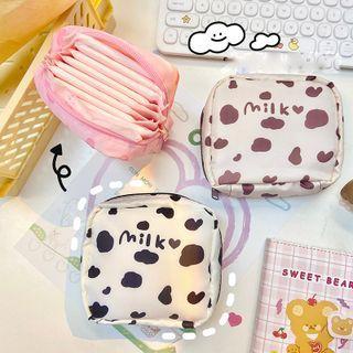 Yunikon(ユニコン) - Milk Cow Print Sanitary Pouch