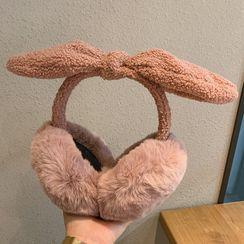 Pompabee - Bow Chenille Earmuffs