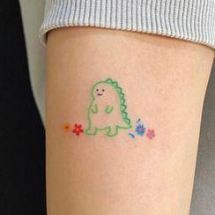 METZ - Dinosaur Waterproof Temporary Tattoo