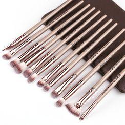 ZOREYA - Set of 12: Makeup Brush