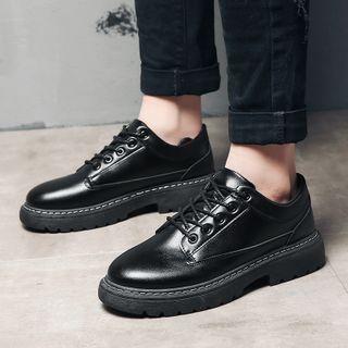 Tanzanite - Patent Platform Oxford Shoes
