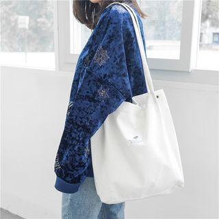 Eastin - 贴布绣灯芯绒手提袋