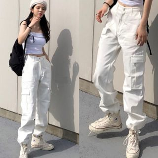 Horis - 工装哈伦裤