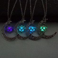 Glamiz - 月亮发光项链