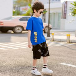 Cherry Pie - Kids Lettering Cargo Shorts