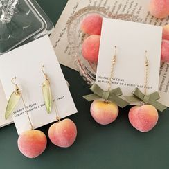 Admae - Peach Drop Earring