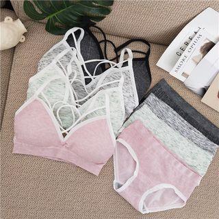 Tanee - Set: Wireless Bra + Panties