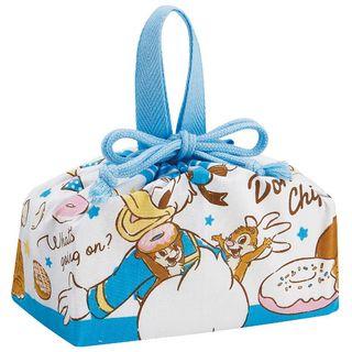 Skater - Donald Duck, Chip & Dale Drawstring Lunch Bag