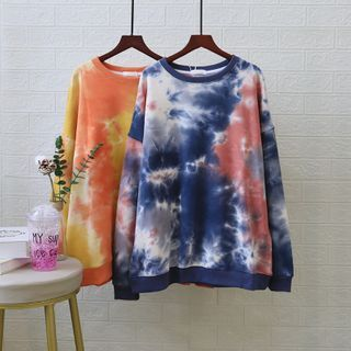 DDFAM - Tie-Dyed Pullover